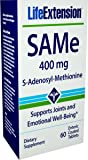 Life Extension SAMe (S-Adenosyl-Methionine) 400 mg 60 Enteric Coated Tablets
