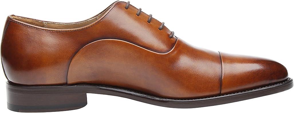 5224 Chaussure Richelieu Captoe Classique SHOEPASSION No Cousue Goodyear /& Faite Main Whisky Chaussure de Bureau ou de Loisirs pour Homme au Design Unique gr/âce /à Une Patine Artisanale