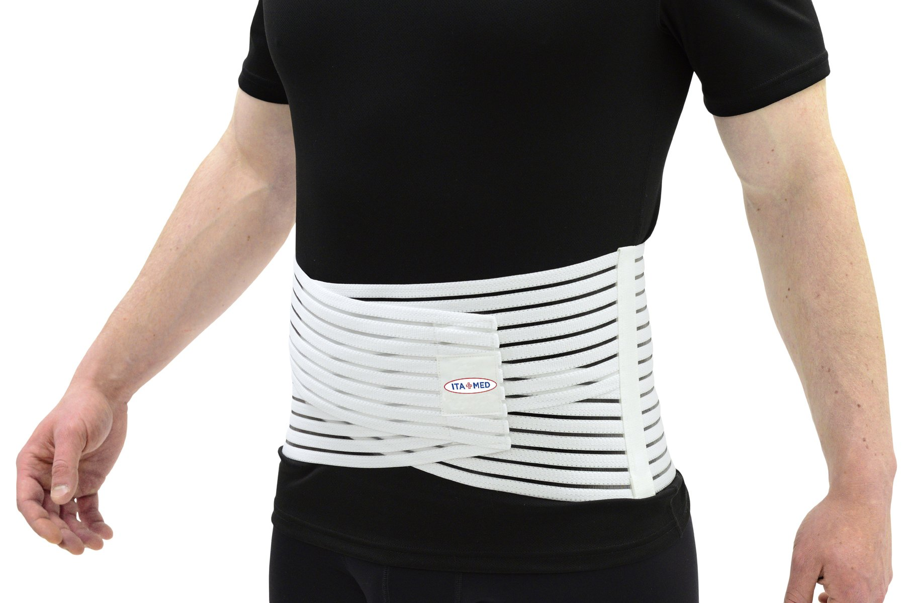 ITA-MED Breathable Elastic Back Support, Small