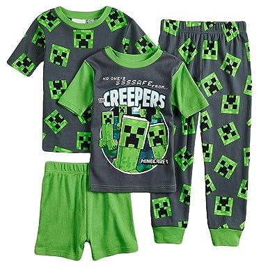 Minecraft Creeper Boys Bathrobe 6-12