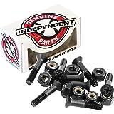 Independent Genuine Parts Cross Bolts Standard Phillips Skateboard Hardware (Black/Black