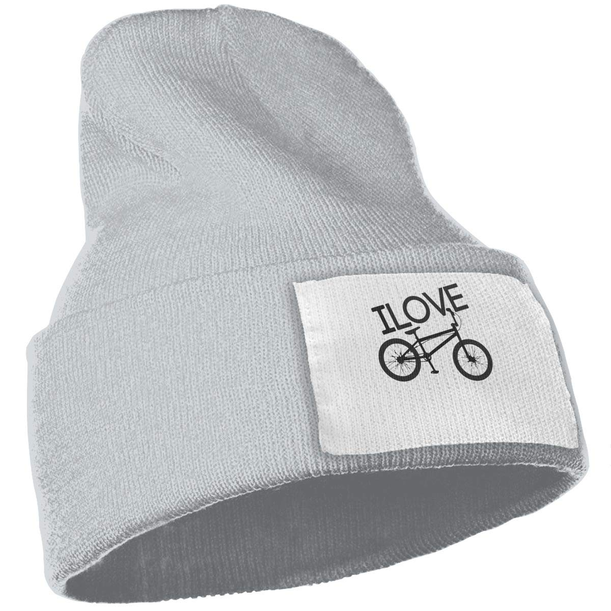 Heart Love Bicycle Unisex Fashion Knitted Hat Luxury Hip-Hop Cap