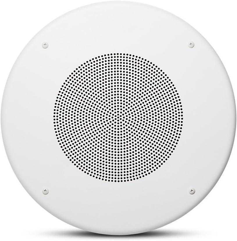 JBL Professional CSS8018 Commercial Series 20-Watt Ceiling Speaker, 8-Inch, White