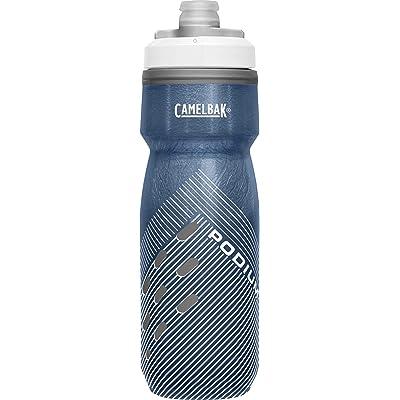 CamelBak Podium Chill Botellas, Unisex Adulto, Azul Marino Perforado, 0.62 Litre/21 oz