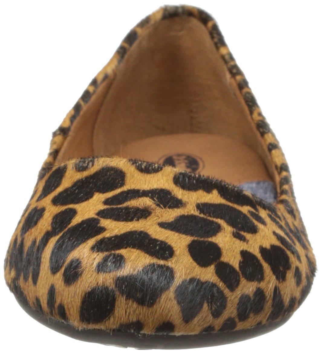 Dr. Scholl's Women's Really Flat B06WVQ5XXZ 6 C/D US|Brown/Black Leopard