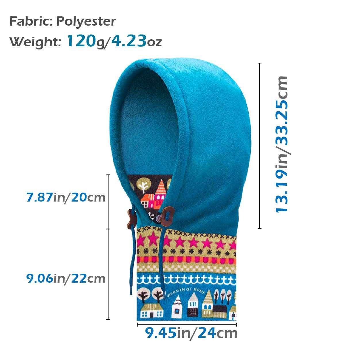 Azarxis Kids Balaclava Ski Mask Full Face Caps Hat Hood Fleece Windproof Winter Wear Gear for Boys Girls Children