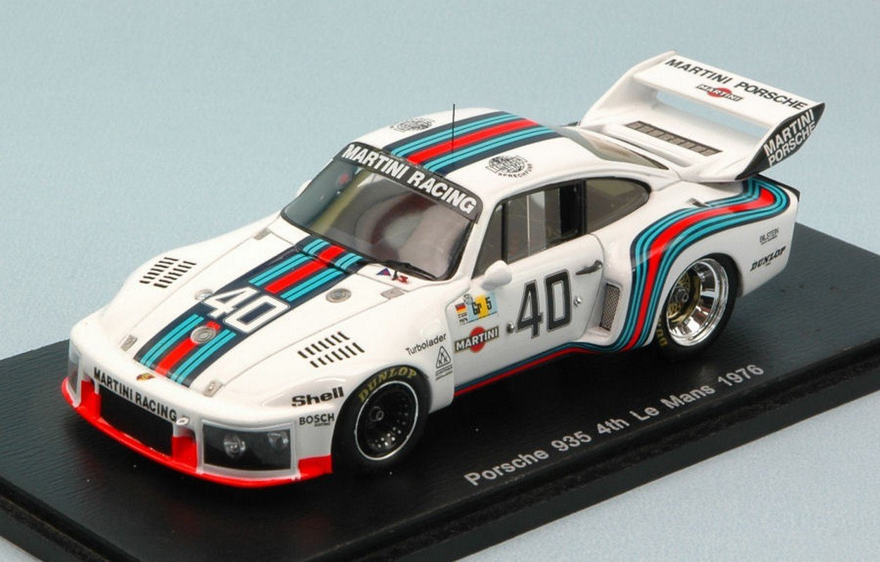 Spark Model S4689 Porsche 935 N.40 4th LM 1976 R.STOMMELEN-M.SCHURTI 1:43 Model