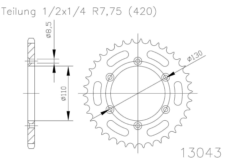 Quattro Erre 13355/N/úmero 5/Sticker Bombing 10/x 7,5/cm
