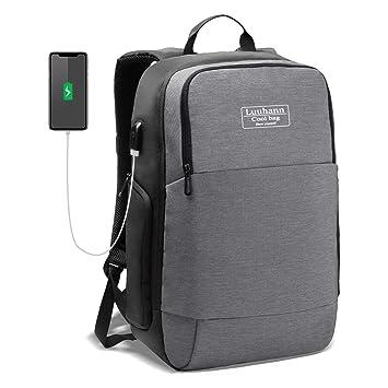 f0e7e0b85f Amazon | ビジネス リュック メンズ USB ポート搭載【 2019 耐久性ある ...