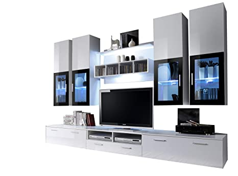 Concept Muebles Presto Moderna Unidad de Pared/Centro de ...