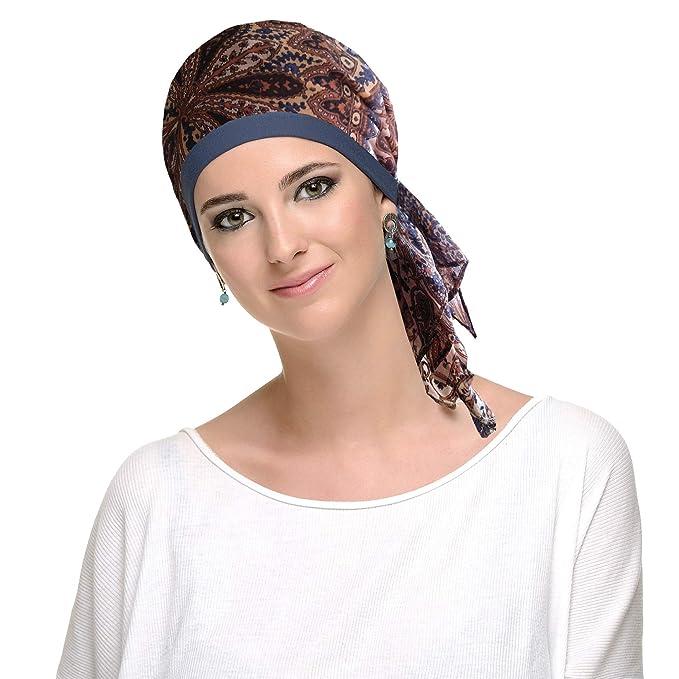 9eba3d19 Pañuelo oncologico toast para mujeres con cancer, quimioterapia ...