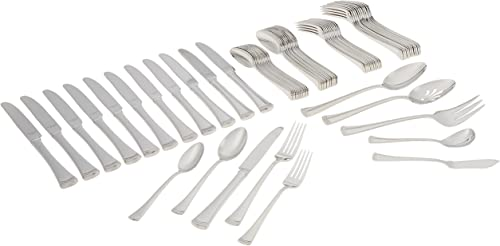 Lenox 815486 Portola Stainless Steel 65-Piece Flatware Set