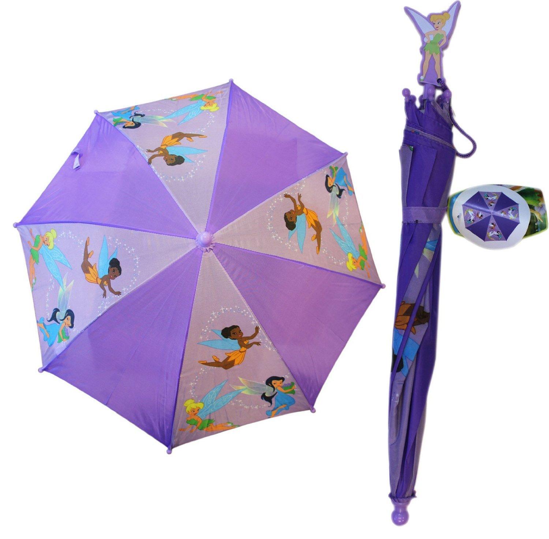Tinkerbell Fairies Umbrella  Girls Disney Umbrella