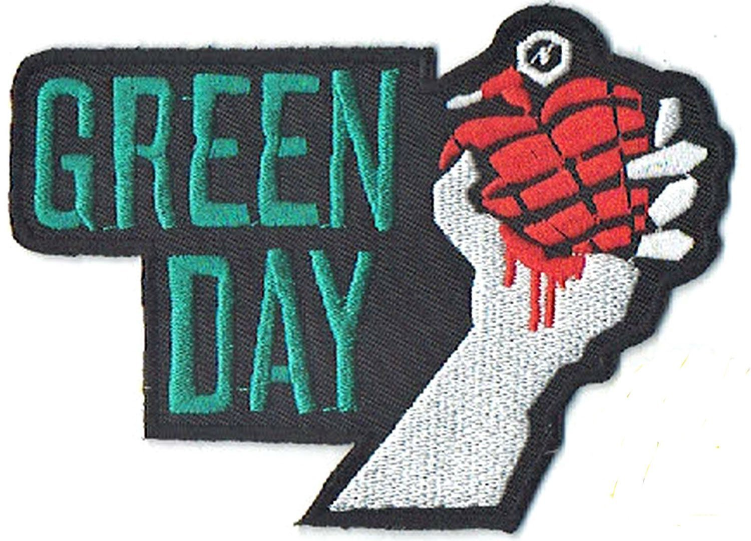 Green Day apliques bordados de hierro en parches por PATCH CUBE