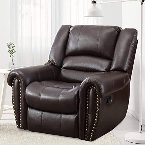 ANJ HOME Heavy Duty Faux Leather Recliner Chairs