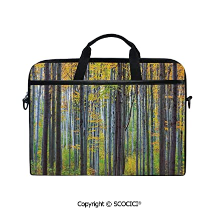 0fc1e5501d97 Amazon.com: Printed Laptop Bags Notebook Bag Covers Cases Lush Beech ...