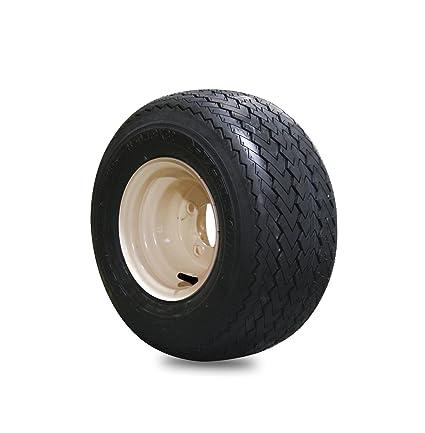 Amazon.com: EZGO 18 x 8.50 – 8 hole-n-one Kenda Tire con Tan ...