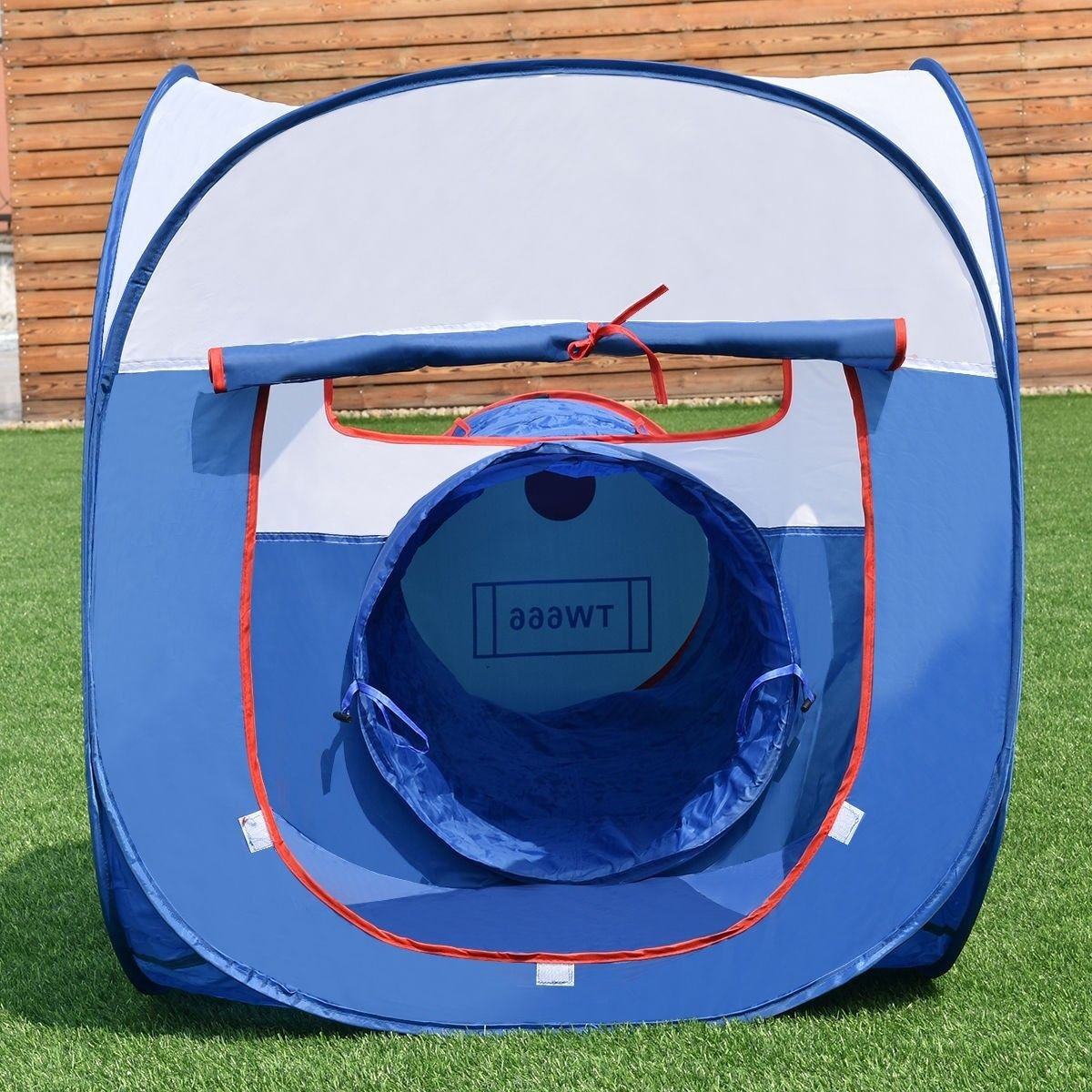 Amazing 2 In 1 Play Tent Tunnel House Outdoor Children Baby Kids Toys Gifts Game House by Pan_Had (Image #3)
