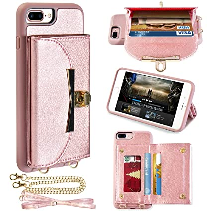 Amazon.com: LAMEEKU Funda para iPhone 7 Plus y 8 Plus ...