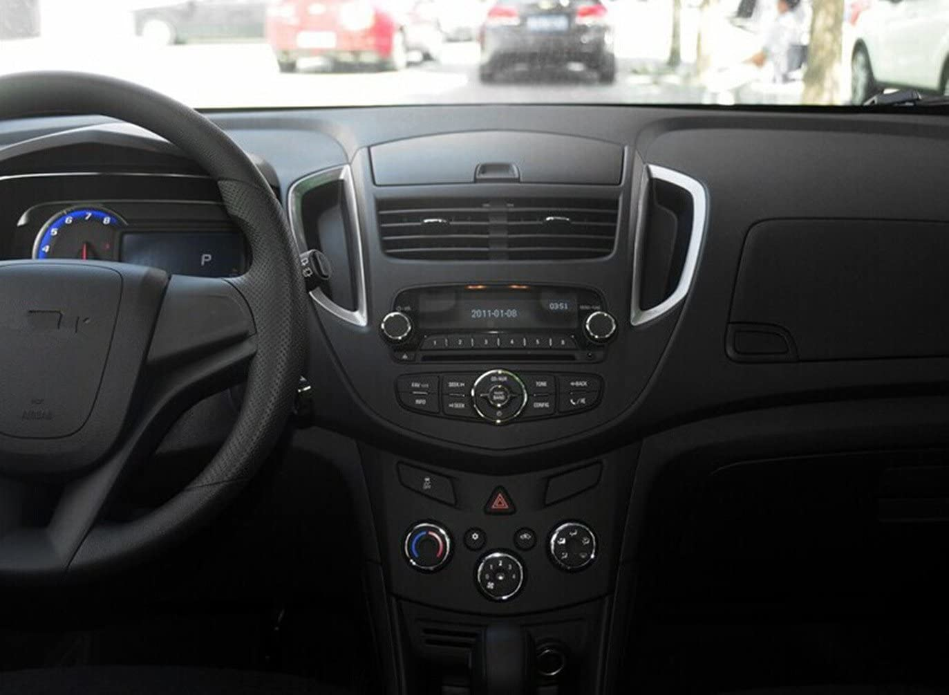 Roverone 9 Pouces Android 6.0 Octa Core pour Chevrolet Trax 2013-2016 de voiture radio avec navigation GPS Bluetooth st/ér/éo Miroir Link Full /écran tactile