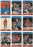 2017-18 Panini NBA Hoops Oklahoma City Thunder Team Set of 9 Cards: Paul George(#149), Patrick Patterson(#183), Russell Westbrook(#208), Steven Adams(#209), Enes Kanter(#211), Andre Roberson(#213), Alex Abrines(#214), Doug McDermott(#216), Terrance Fergus