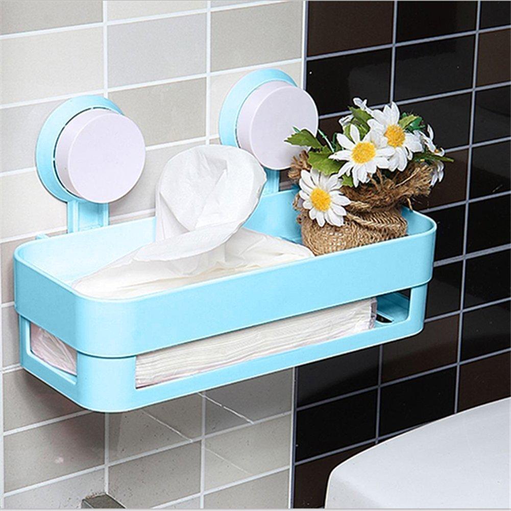 Kitchen Shelf - TOOGOO(R) Kitchen Bathroom Shelf Plastic Shower ...