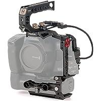 (Black) TILTA TA-T11-B-B Kamera Cage bur Basic kit för BMPCC 6K Pro Blackmagic Pocket Cinema Camera 6K Pro Tiltaing Rig