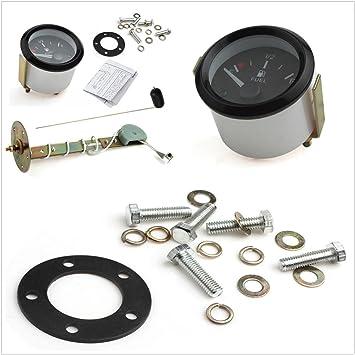 "SUNDELY® 2 ""52 mm coche medidor de nivel de combustible w/Sensor"