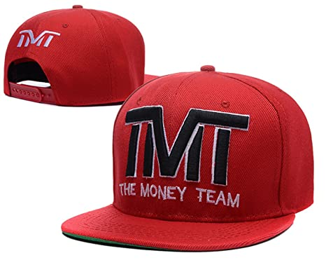 The Money team snapback sombreros TMT gorras (rojo negro logo ... ab7f64e0de2