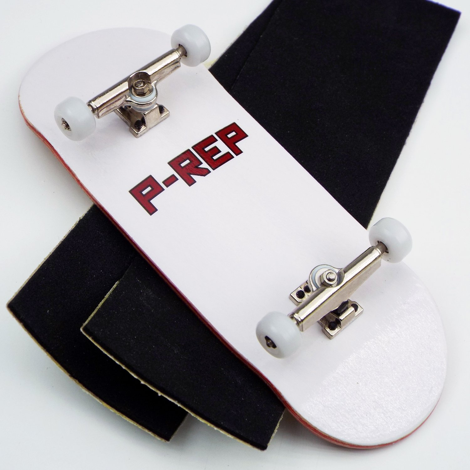 Peoples Republic P-Rep FP 34mm Complete Wooden Fingerboard w CNC Lathed Bearing Wheels ... by Peoples Republic
