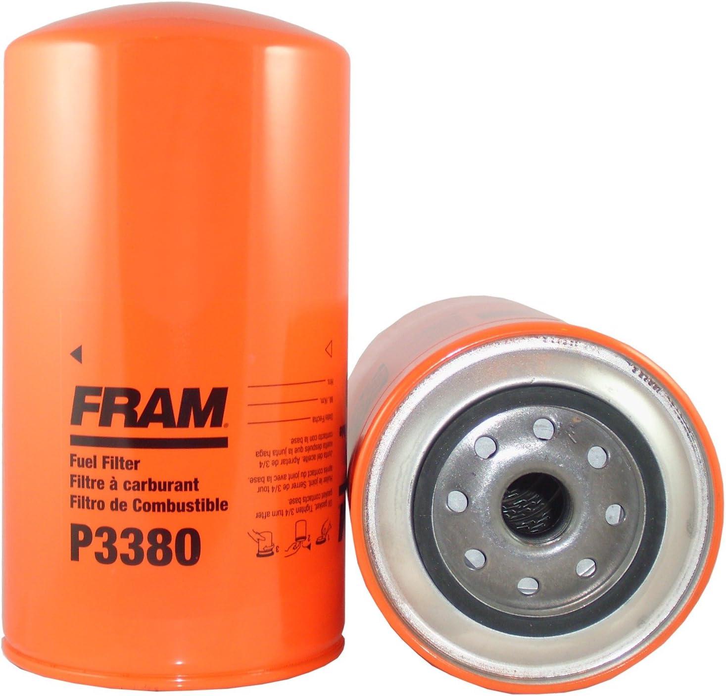 amazon.com: fram p3380 heavy duty oil and fuel filter: automotive  amazon.com