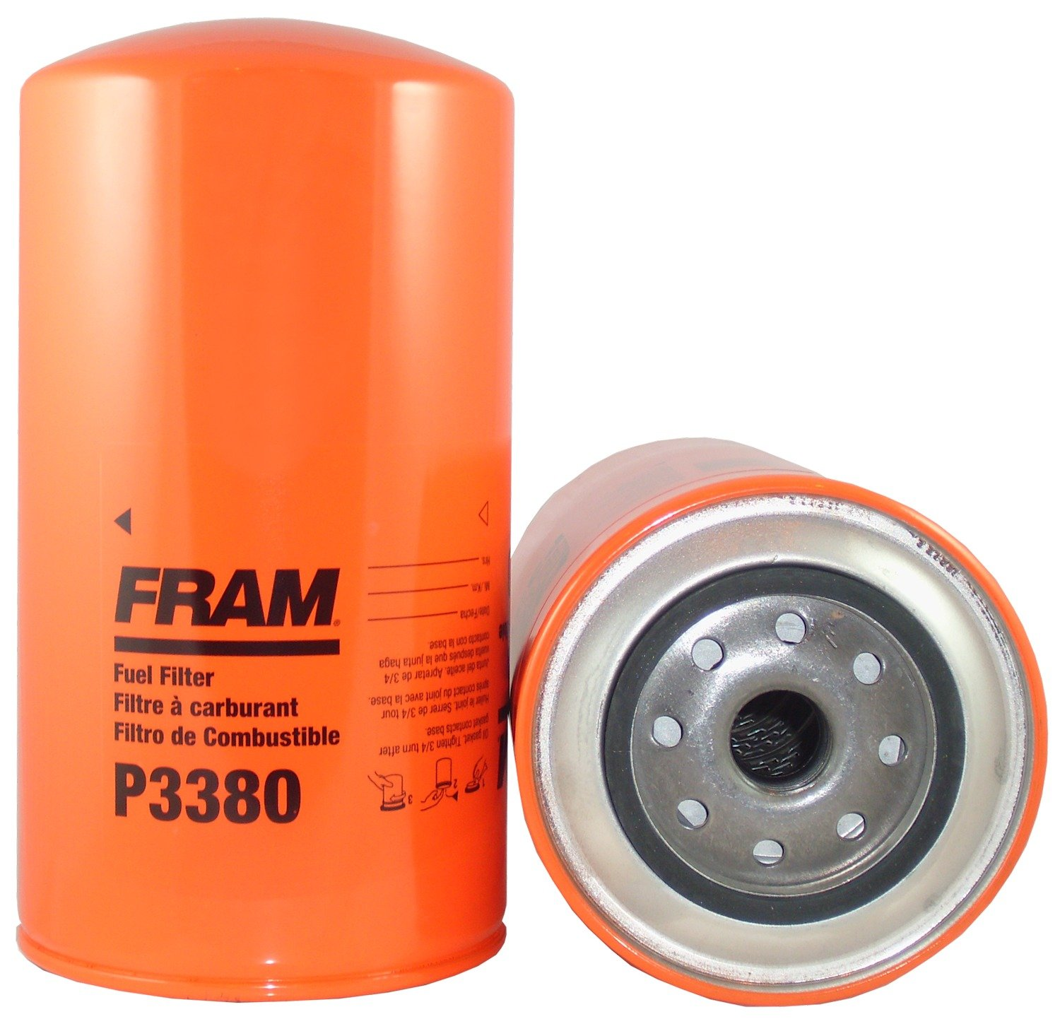 Fram P3380 Heavy Duty Oil And Fuel Filter Automotive Kubota Filters