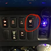 Green LED CH4X4 Toyota Push Switch Subwoofer Symbol