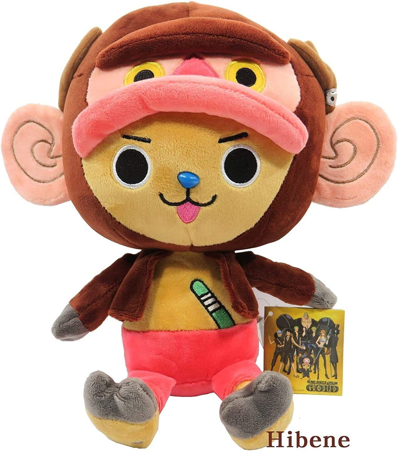 Amazon Com One Piece Film Gold Monkey Tony Chopper Authentic Stuffed Plush Doll 10 Office Products