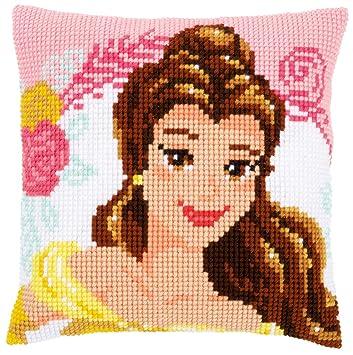 Amazon.com: Disney bella y la bestia Belle cojín Enchanted ...