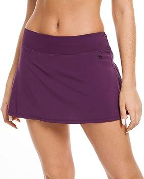 QUEENIEKE Falda Ultra Mujer con Pantalones Cortos Atléticos Gym ...