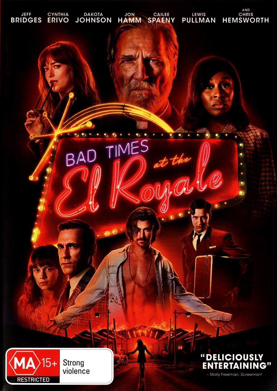 Amazon Com Bad Times At The El Royale Cynthia Erivo Dakota Johnson Jon Hamm Jeff Bridges Drew Goddard Movies Tv