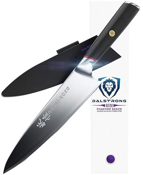 Dalstrong Cuchillo de chef - serie fantasma - acero AUS8 ...