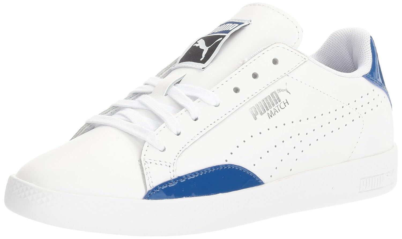 PUMA Women's Match Basic WN's Fashion Sneaker B01LPVQYFM 7.5 M US|Puma White-true Blue
