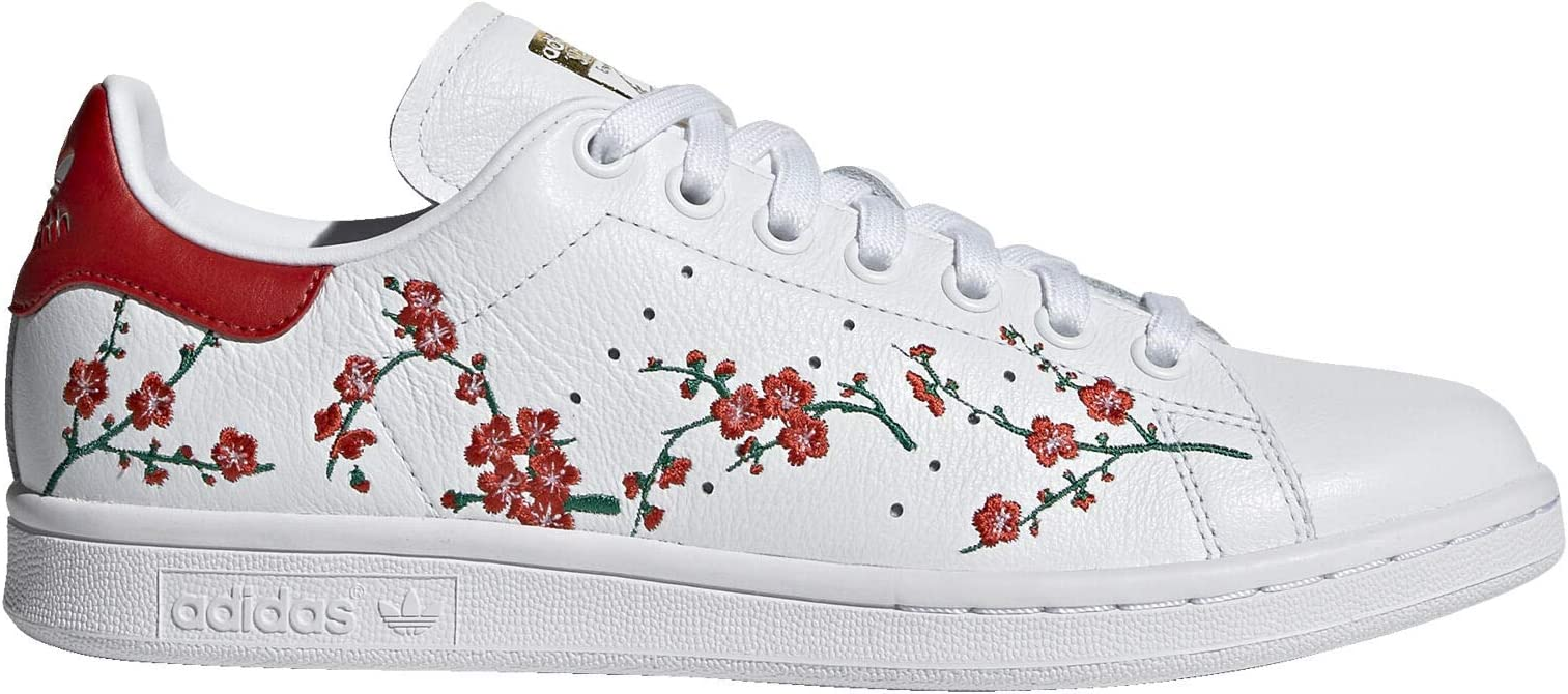 adidas Stan Smith Shoes Women's, White, Size 6: Amazon.fr ...