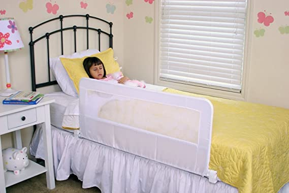 Amazon.com: Regalo Swing Down Bedrail Bed Rail Crib Toddler ...