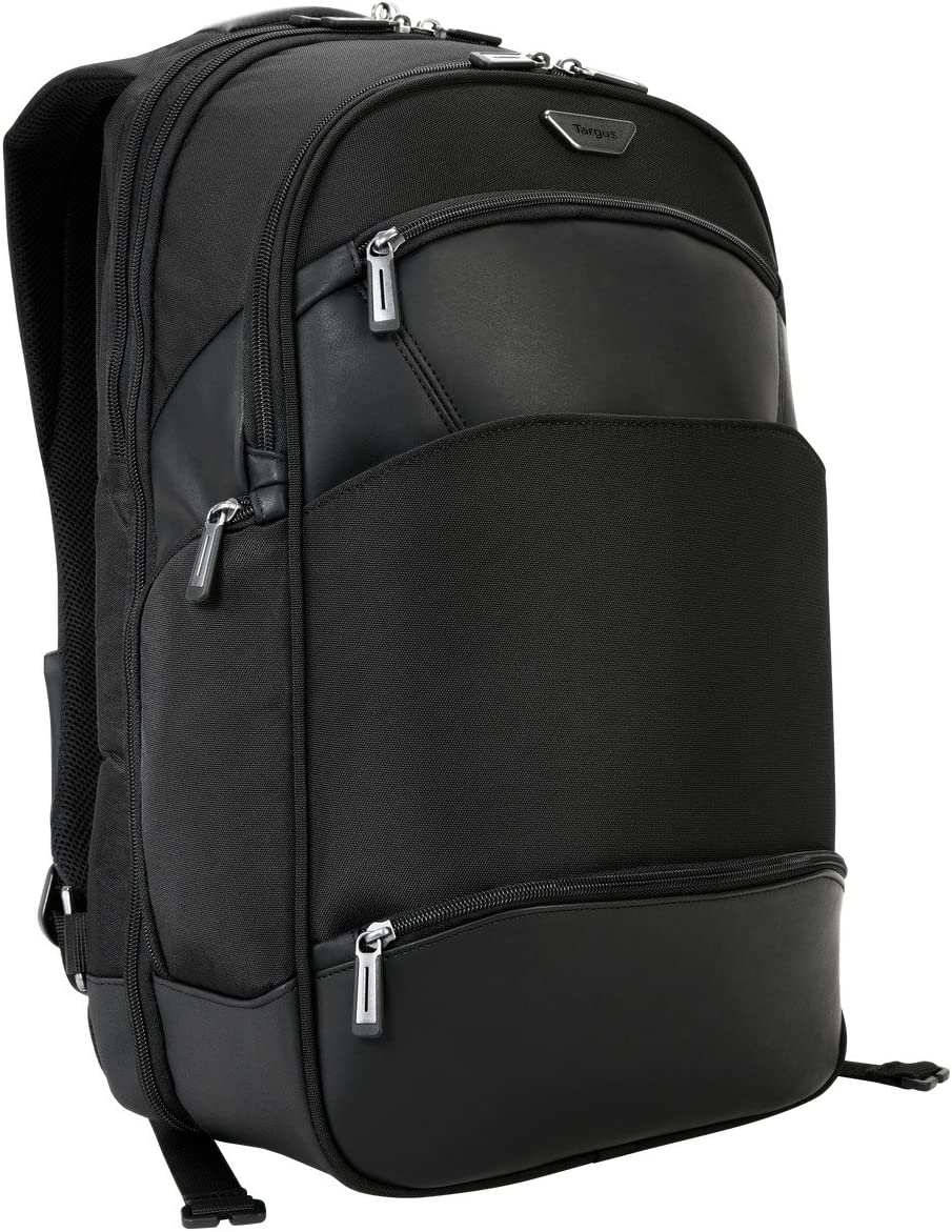 Targus Mobile ViP Checkpoint-Friendly Backpack with SafePort Sling Drop Protection for 15.6-Inch Laptops, Black (TSB862)
