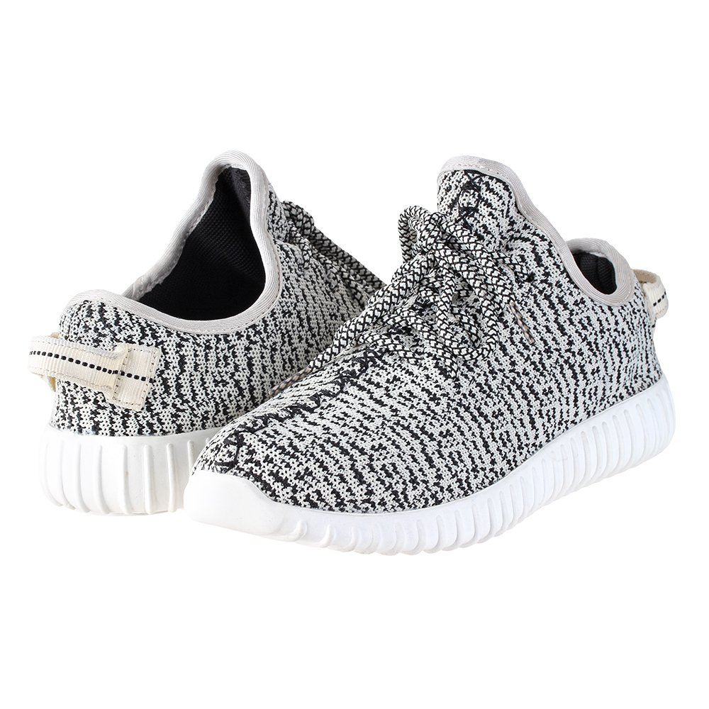 Fortis Womens Knitted Lightweight Sneakers | Casual Memory Foam Shoes | Casual | Shoes for Women | Knit Shoes B07BC7PS23 10 M US|White/Black 7de950