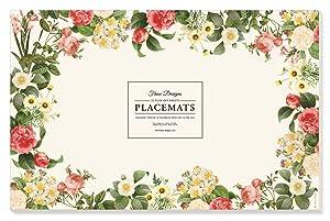 Faux Designs Paper Placemats - Posy