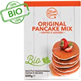 MapleFarm - Preparato per pancake BIOLOGICO - Astuccio 500g - Original PANCAKE MIX BIO
