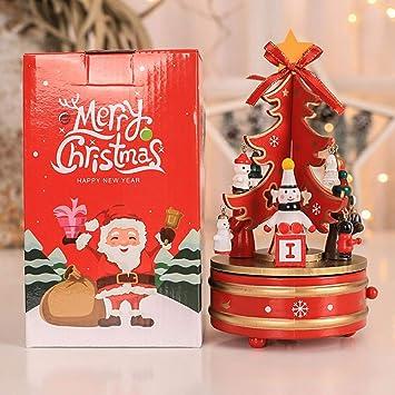 Amazon Com Psfs Rotating Music Christmas Tree Music Toy Indoor