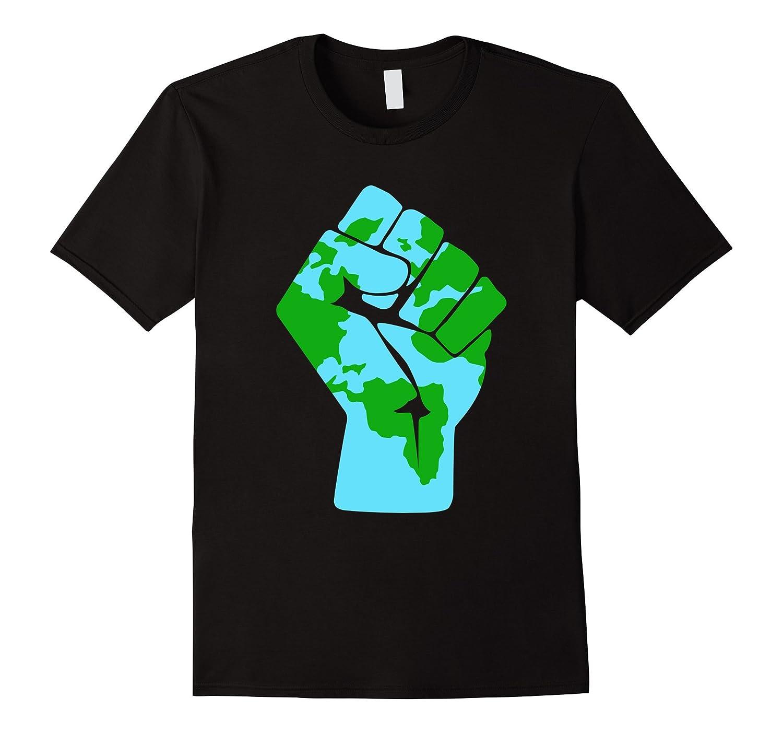#Resist Global Warming Mother Earth Anti-Trump T-Shirt-FL