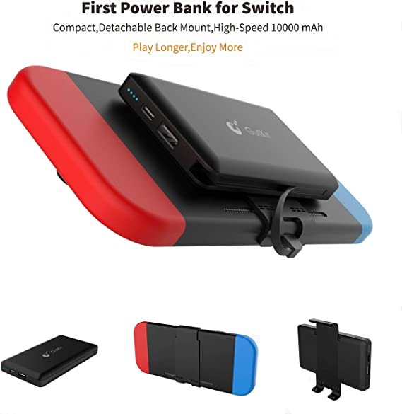 Banco de Potencia portátil para Nintendo Switch – 10000 mAh batería Recargable de Larga duración – Batería de Emergencia compacta para Nintendo Switch de Emperor of Gadgets®: Amazon.es: Electrónica