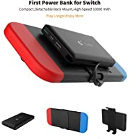 Portable Power Bank for Nintendo Switch - 10000mAh Rechargeable Extended Battery Charger Case - Compact Travel Backup Battery Pack for Nintendo Switch by Emperor of GadgetsÃ'Â