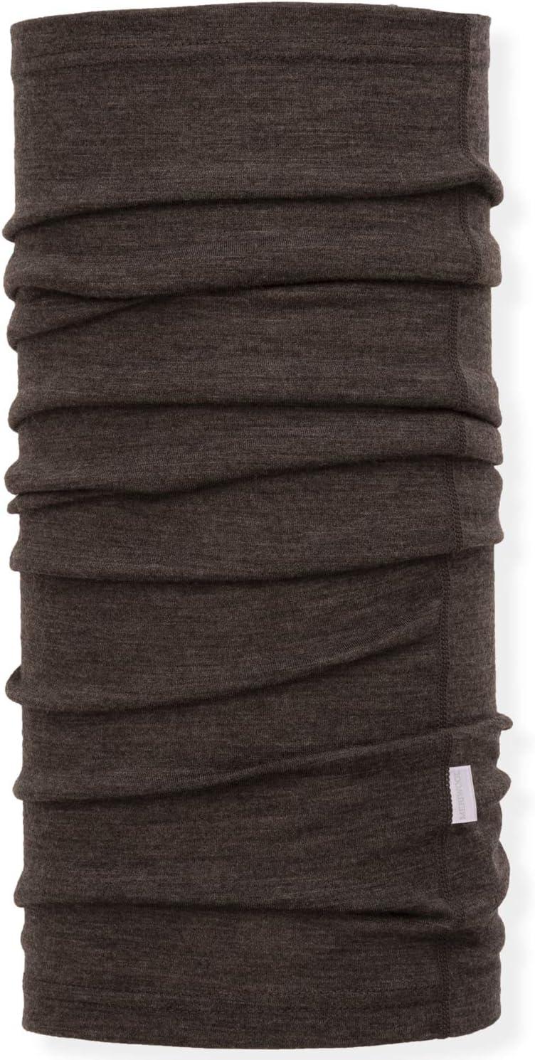 MERIWOOL Unisex Merino Wool Neck Gaiter Choose Your Color